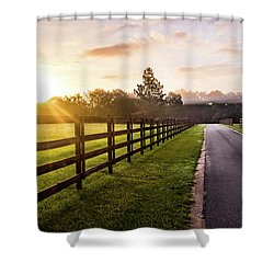 Shower Curtain featuring the photograph Colorful Palette At Sunrise by Shelby Young