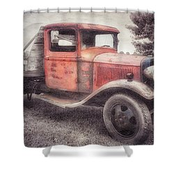 Colorful Past Shower Curtain