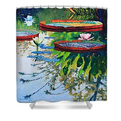 Colorful Reflections Shower Curtain by John Lautermilch