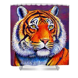 Colorful Tiger Shower Curtain
