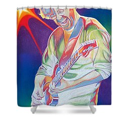 Colorful Trey Anastasio Shower Curtain