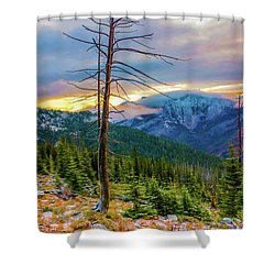 Colorfull Morning Shower Curtain