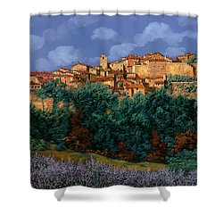 colori di Provenza Shower Curtain by Guido Borelli
