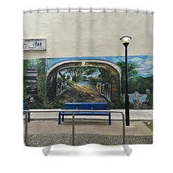 Coloring Holland V Wall 1 - Memories Shower Curtain