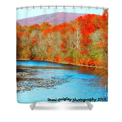 Coloring The Kittatinny Shower Curtain
