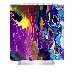 Colorinsky Shower Curtain