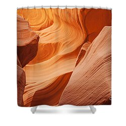 Colors Abound In The Canyon Shower Curtain by Ruth Jolly