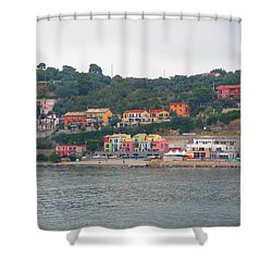 Colors Along The Coast Shower Curtain