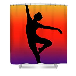 Colors Dance Shower Curtain