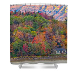 Colors In Canada Shower Curtain