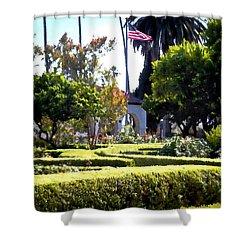 Shower Curtain featuring the photograph Colors In The Garden by Glenn McCarthy Art and Photography