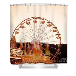 Colors Of August Shower Curtain