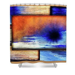 Colors Of Beach Shower Curtain