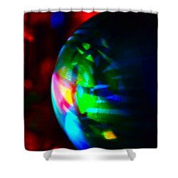 Colors Of Christmas Shower Curtain