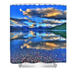 Colors Of Clouds Shower Curtain by Scott Mahon