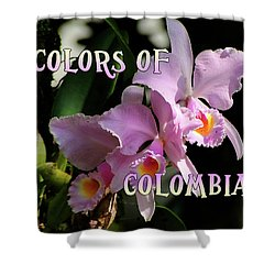 Colors Of Colombia Shower Curtain