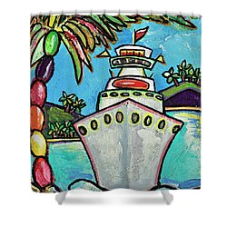 Colors Of Cruising Shower Curtain