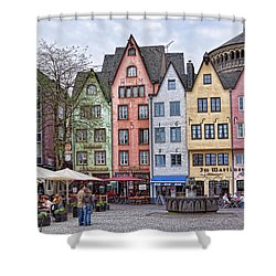 Colors Of Germany Shower Curtain