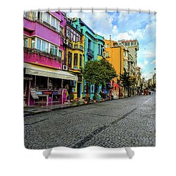 Colors Of Istanbul Shower Curtain