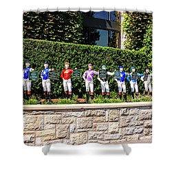 Colors Of Past Stakes At Keeneland Ky Shower Curtain