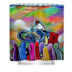 Colors Of Rajasthan Shower Curtain