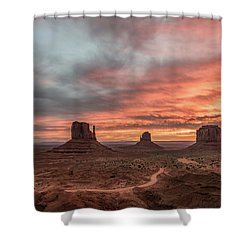 Shower Curtain featuring the photograph Colors Of The Past by Jon Glaser