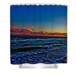 Outer Banks Obx Shower Curtain