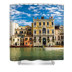 Colors Of Venice - Italy Shower Curtain