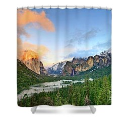 Colors Of Yosemite Shower Curtain