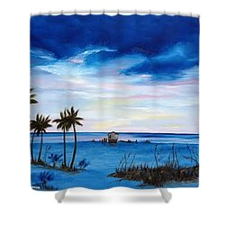 Colors On The Gulf Shower Curtain