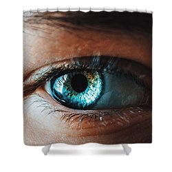 Shower Curtain featuring the photograph Colors by Parker Cunningham