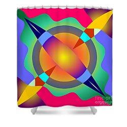 Colorscape 1-5 Shower Curtain