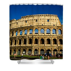 Colosseo Roma Shower Curtain