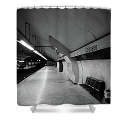 Colosseo Station Shower Curtain