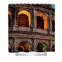 Colosseum In Rome, Italy Shower Curtain