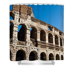 Colosseum - Old And New Shower Curtain by Ed Cilley