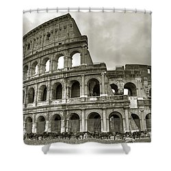 Colosseum  Rome Shower Curtain