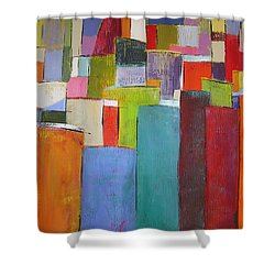 Colour Block7 Shower Curtain