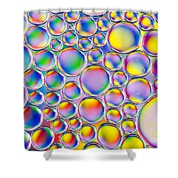 Shower Curtain featuring the photograph Colour Me Crazy by Tim Gainey