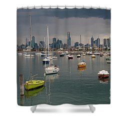 Colour Of Melbourne 2 Shower Curtain
