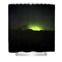 Colour Out Of Space Shower Curtain