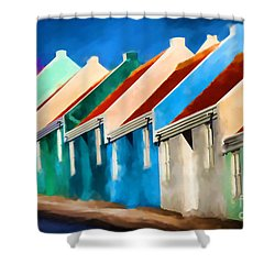Coloured Shower Curtain