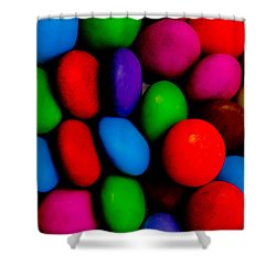 Colourful Abstract Shower Curtain