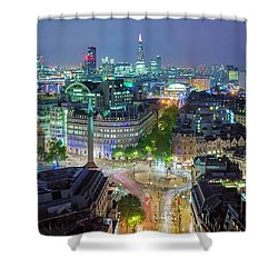 Colourful London Shower Curtain