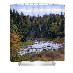 Colours Of Autumn Shower Curtain by Deborah Klubertanz