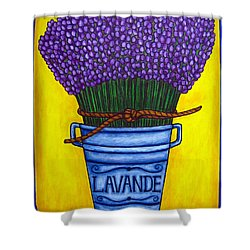 Colours Of Provence Shower Curtain