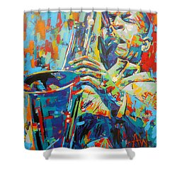 Coltrane Shower Curtain