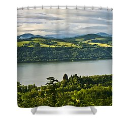 Columbia Gorge Scenic Area Shower Curtain
