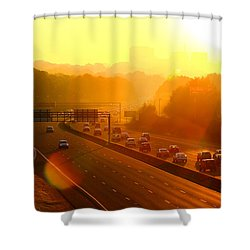 Columbia Morning 1 Shower Curtain