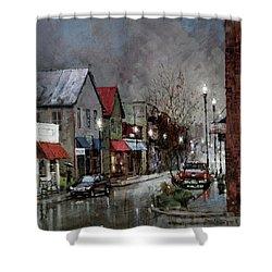 Columbia Rain Shower Curtain
